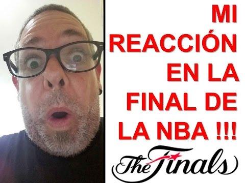 MI REACCIÓN DURANTE EL ÚLTIMO MINUTO EN LA FINAL DE LA NBA - CAVALIERS vs GOLDEN STATE HIELO KING