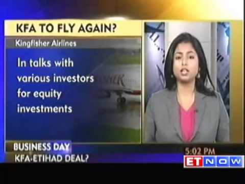 Kingfisher In Stake Sale Talks With Etihad