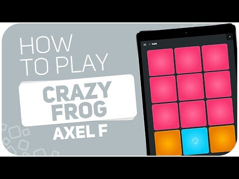 How to play: CRAZY FROG (Axel F) - SUPER PADS - Kit Bam