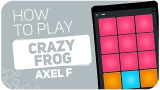 Скачать How To Play CRAZY FROG Axel F SUPER PADS Kit Bam
