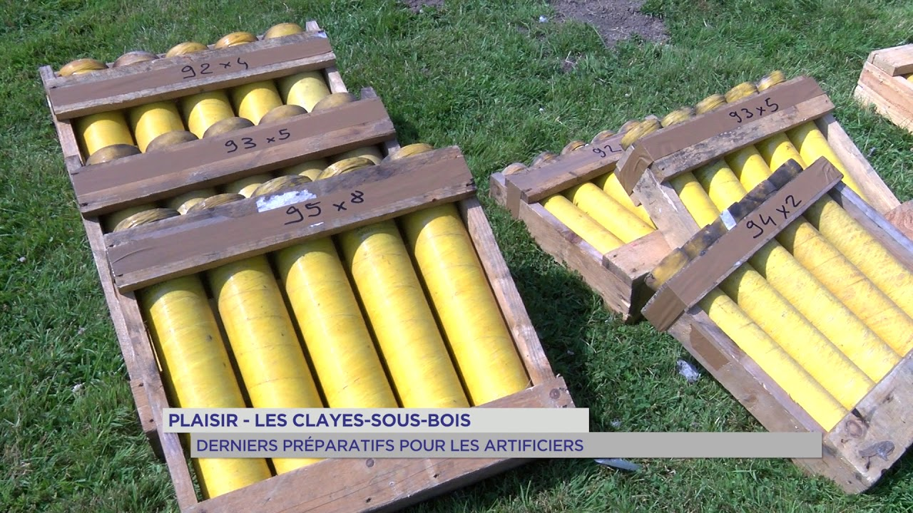 Plaisir-Les Clayes : derniers préparatifs pour les artificiers