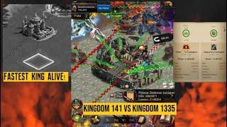 Clash Of Kings - K141 vs K1335