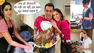 Katrina,Salman,Sonakshi & Other Cooking After discharging maid | alert After Kanika Kapoor Positive