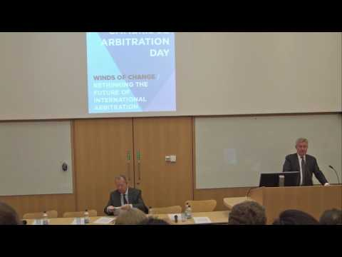 Cambridge Arbitration Day 2017: Welcome address: Professor Richard Fentiman