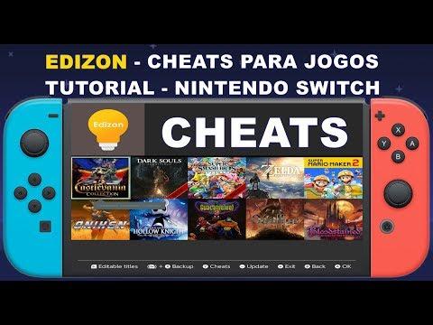 EDIZON - CHEATS JOGOS NINTENDO SWITCH - TUTORIAL