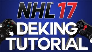 NHL 17 COMPLETE DEKES TUTORIAL For Xbox One and PS4! - How To Do ALL Dekes, Dangles & Moves!