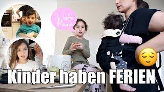 Alle 4 Kinder zu HAUSE | Typischer Ferientag | Familienvlog | Filiz