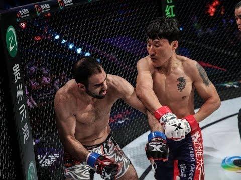 Mongolia Ghinggis Khan Brenzorig KO Kazakhstan warrious Aleksey