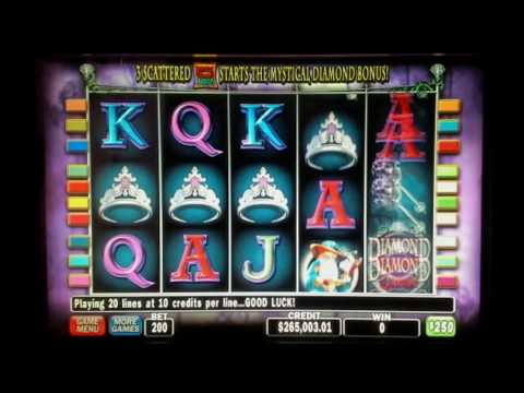 Diamond Queen High Limit With Bonus