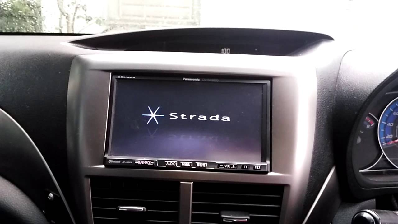 Panasonic strada camera options. Youtube.