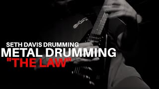 Скачать Seth Davis Drumming 44 Exhorder The Law 2010