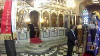 Μέγας Εσπερινός στον Άγιο Κωνσταντίνο Τρίπολης