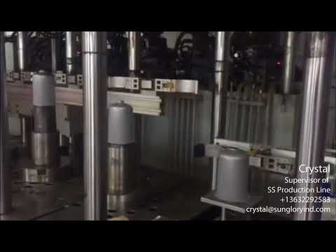 Sun Glory Automatic Hydraulic Press Line
