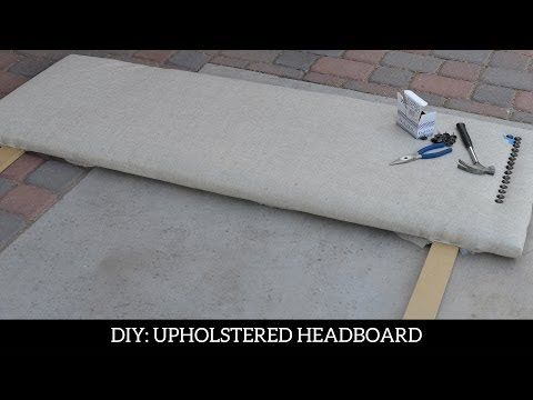 DIY: How to Upholster a Headboard