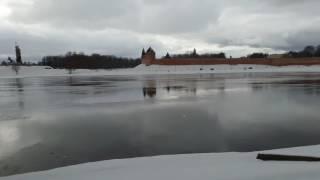 Волхов, Новгородский Кремль, февраль(Река Волхов, Новгородский Кремль, февраль., 2017-02-28T17:27:59.000Z)