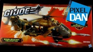 Hasbro G.I. Joe Eaglehawk Helicopter Video Review