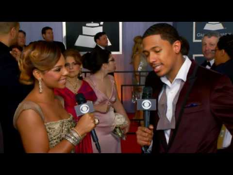 52nd Grammy Awards - Ashanti Interview
