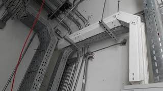 How to install cable tray  Installation