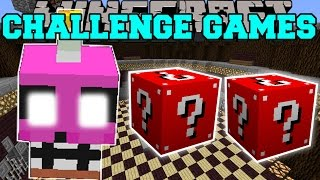 Minecraft: NIGHTMARE CUPCAKE CHALLENGE GAMES - Lucky Block Mod - Modded Mini-Game