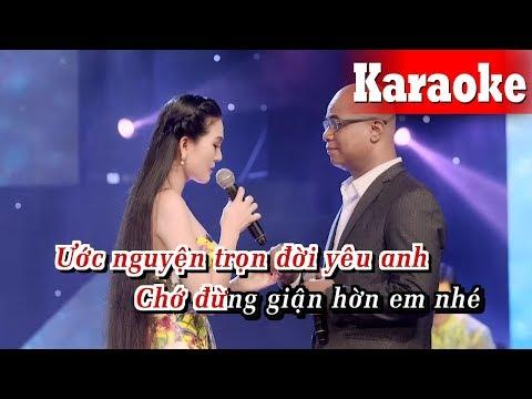 Karaoke Nhớ Người Yêu (Beat Chuẩn) - Karaoke Song Ca || Randy, Hoa Hậu Kim Thoa Karaoke