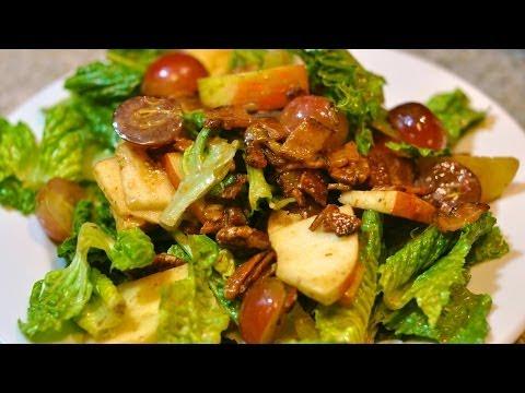 Apple Salad With Balsamic Vinaigrette Recipe