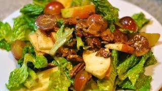 Apple Salad With Balsamic Vinaigrette Recipe