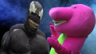Venom 2018 Vs Barney The Dinosaur