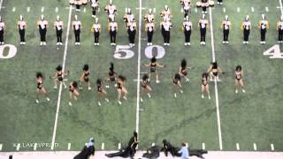Alabama State University Marching Band - Honda BOTB - 2015 #HBOB