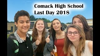 Last Day of School 2018 | Commack High School | Part 1 | Zad AT Vlogs