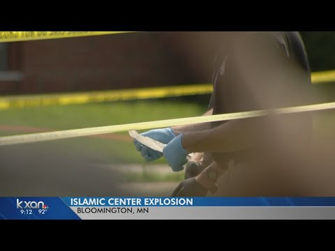 FBI: Explosive detonated at Minnesota mosque