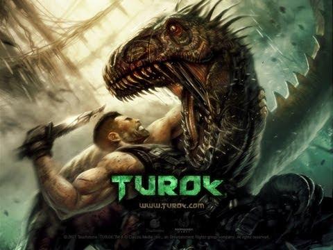 Turok охота на динозавров. Прохождение с комментариями ч1