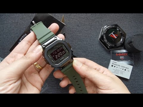 UNBOXING AUTHENTIC G-SHOCK GM-5600B-3D CAMOUFLAGE
