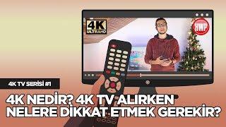 4K Nedir? 4K Televizyon Alırken Nelere Dikkat Etmek Gerekir? | 4K TV Serisi #1
