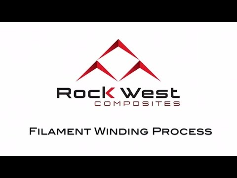 Filament Winding Process by Rock West Composites