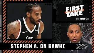Stephen A. doubts Kawhi can win a title with the Clippers