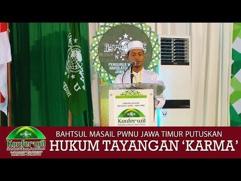 Video: Karma ANTV haram tayangan na, haram lalajo na, hasil bahtsul masail NU Jatim