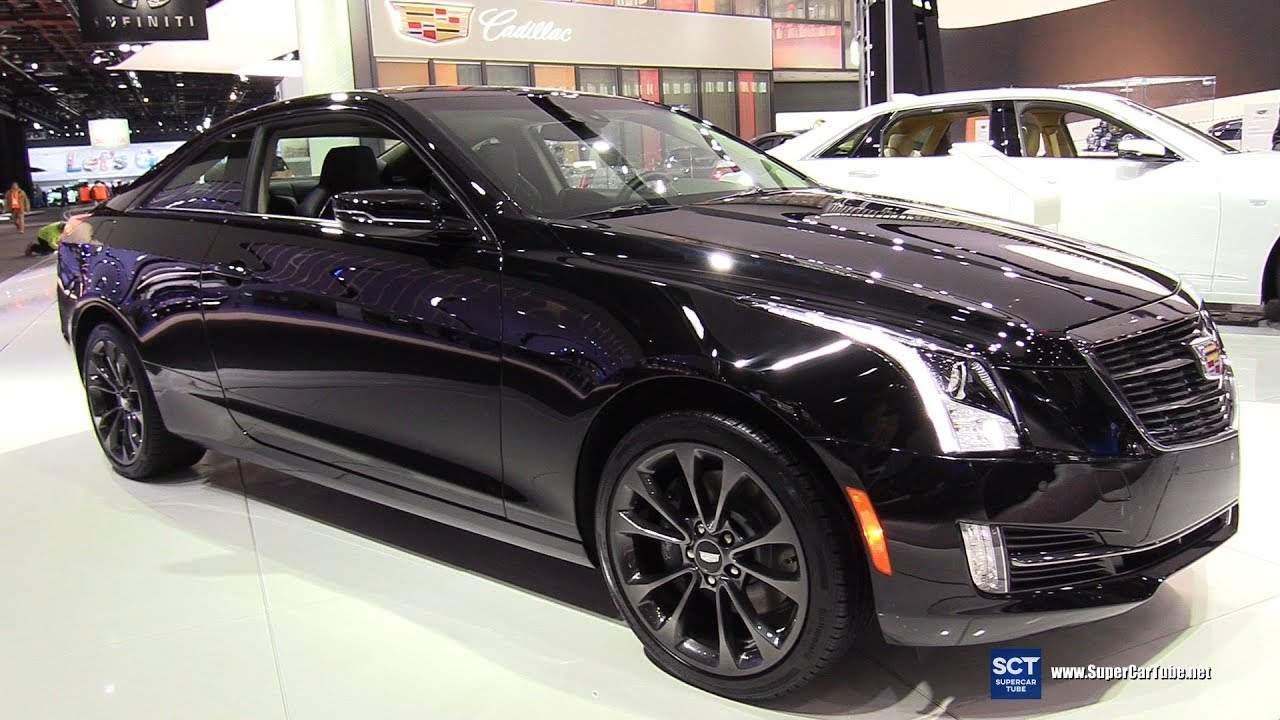 2017 cadillac ats 2 0t exterior walkaround 2017 detroit auto show youtube. Black Bedroom Furniture Sets. Home Design Ideas