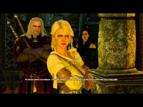 The witcher 3 : Yen Ciri Geralt  Family Time