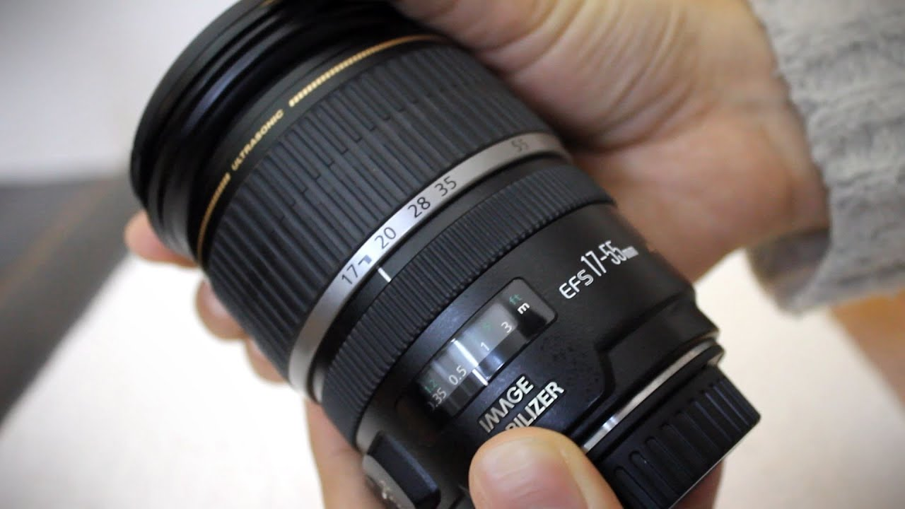 Canon Ef S 17 55mm F 2 8 Is Lens Re Review With Samples Youtube