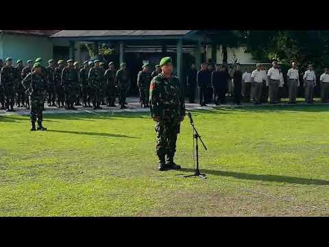 Video - Mantap....!! Suara Lantang Kopka Supriyanto Dalam Pengucapan Sapta Marga
