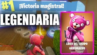 "VICTORIA with THE BEST SKIN LEGENDARY!! *NEW* skin ""LOVE Bear"" Fortnite: Battle Royale"