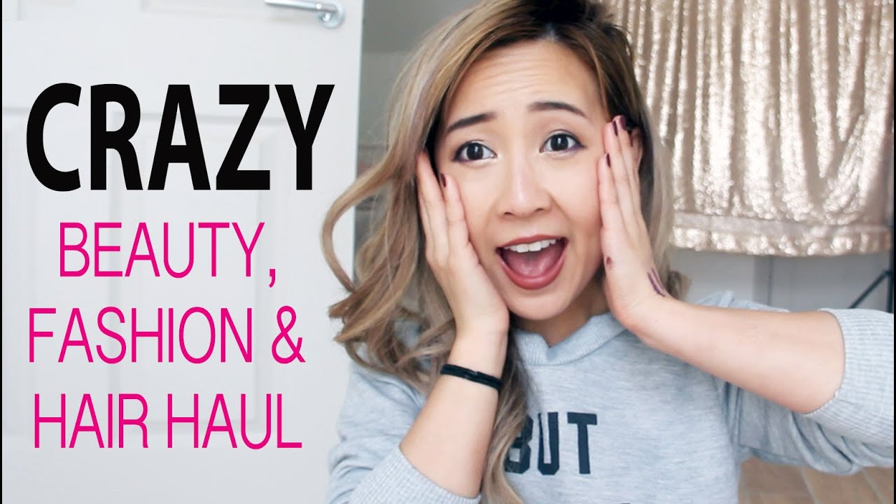 CRAZY Beauty, Fashion & Haircare Haul