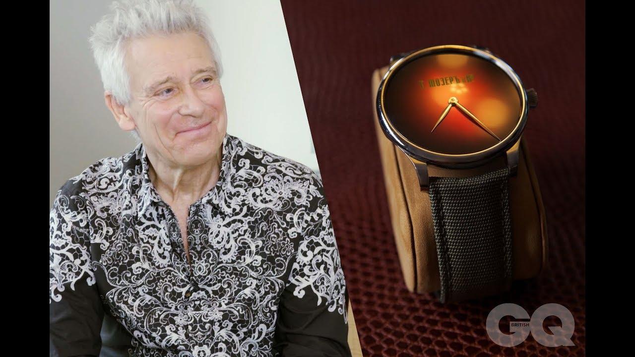 GQ talks watches with U2's Adam Clayton | British GQ