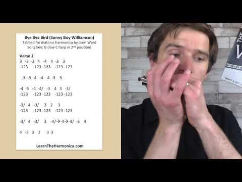 e e Bird Part 2  Sonny Boy Williamson harmonica lesson