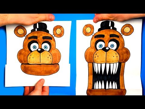 CREATE YOUR FREDDY ANIMATRONIC - Five Nights at Freddy's - CHALLENGE - You cant hide!