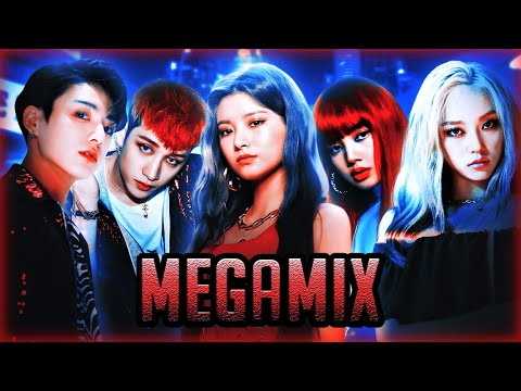 EVERGLOW x Blackpink x BTS x Stray Kids x CLC x R.Velvet +MORE – LA DI DA Megamix {25+ Songs MASHUP}
