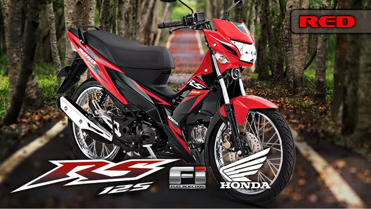Rs 125 fi color red 2017 edition honda philippines motorsiklo