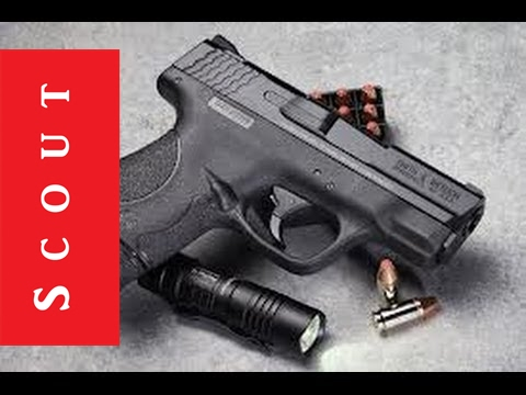 Smith and wesson m amp p shield 9mm shoot and review scout tactical