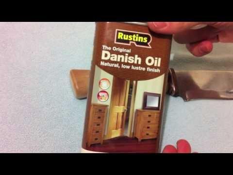 Скинер-Пропитка рукояти Danish Oil
