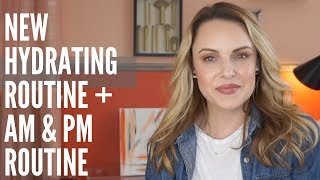 EASY HYDRATING - ANTI-AGING SKINCARE ROUTINE || UPDATED AM & PM SKINCARE + CBD